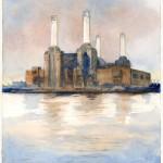 Battersea Power Station London by Christina Bonnett