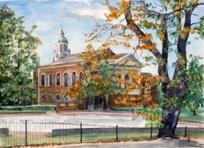 Holy Trinity Church, Clapham Common by Christina Bonnett