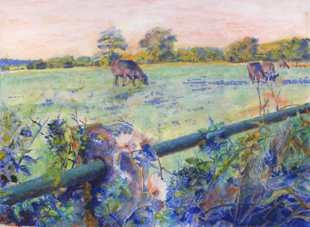 Hedge - Metal Pole by Christina Bonnett