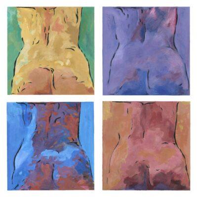 Bottoms four-col Set by Christina Bonnett