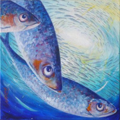Sardinha by artist bj Boulter
