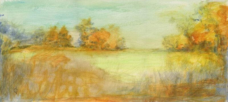 Last Rays painting by Christina Bonnett