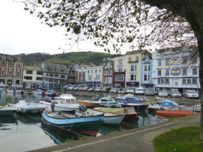 Dartmouth small harbour