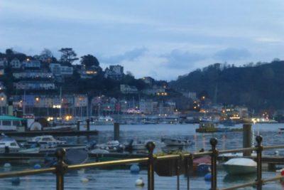 Dartmouth evening lights