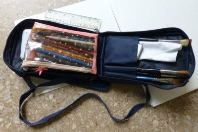 Small sketching bag