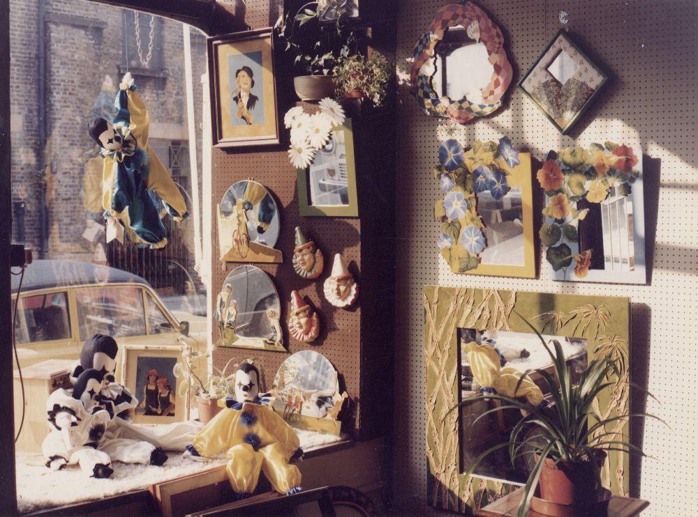Christina Bonnett's first shop in Clapham