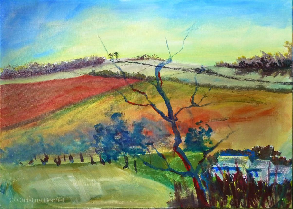 Painting Demo-Brixham Art Society