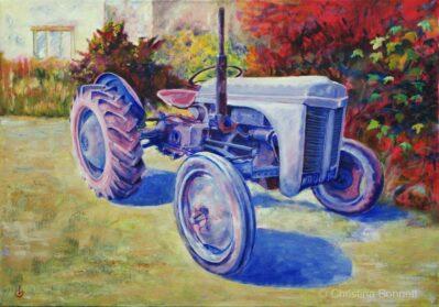 Little Grey Fergie Tractor