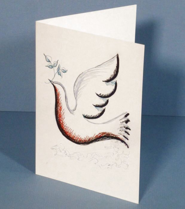 Dove of Peace Card