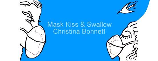 Face Mask Kiss mug design