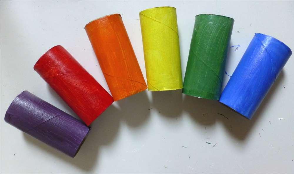 Rainbow Loo-Rolls