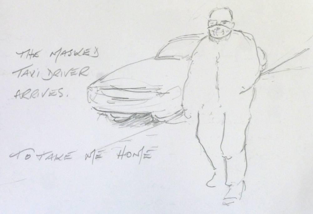 Taxi home sketch